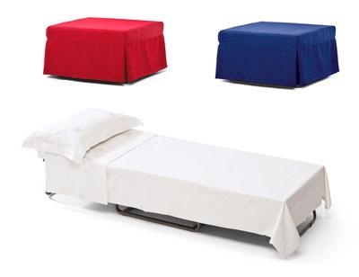 Sofa cama convertible puf