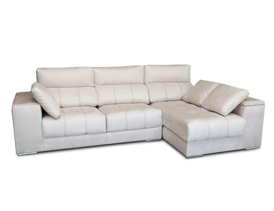 Sofa chaiselongue 3 taburetes arcon