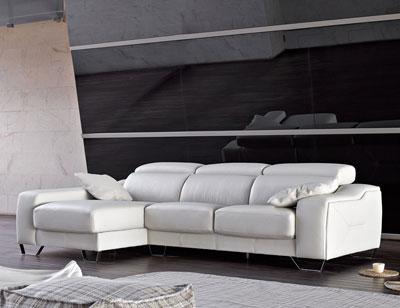 Sofa chaiselongue alta calidad pedro ortiz piel polipiel