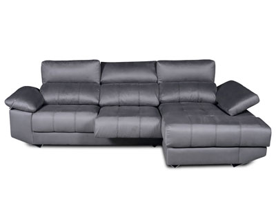 Sofa chaiselongue arcon brazo mecanico tejido anti manchas