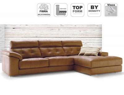 Sofa chaiselongue asientos viscolastica paula divani detalle