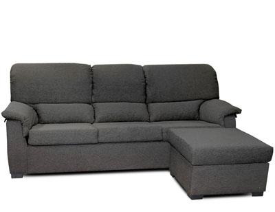 Sofa chaiselongue barato gris1
