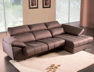 Sofa chaiselongue moderno brazo mecanico detalle1