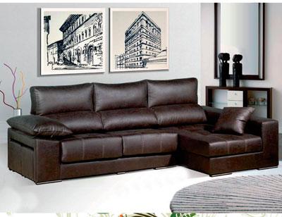 Sofa chaiselongue moderno con puffs3