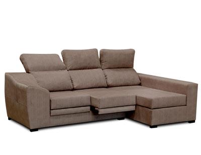 Sofa chaiselongue moderno moka 3