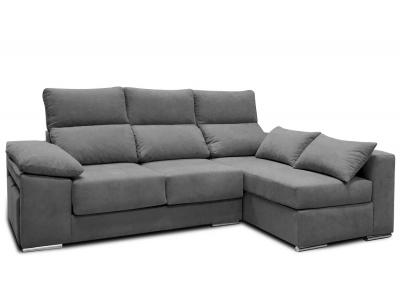 Sofa chaiselongue pufs promocion