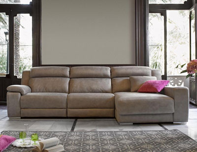 Sofa chaiselongue relax motor electrico piel1