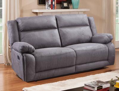 Sof relax 3 plazas con 2 asientos en color chocolate - Sofa gris marengo ...