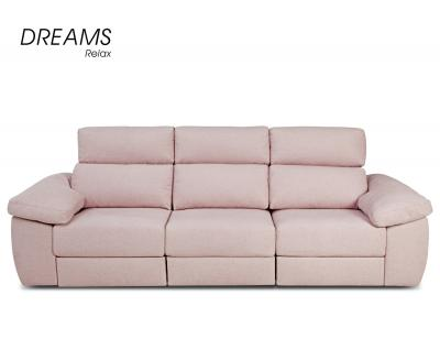 Sofa rosa chaiselongue
