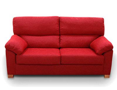 Sofa barato 3 plazas rojo21