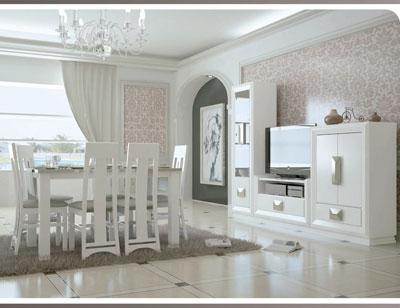 Touring 1 mueble salon comedor neoclasico color 504