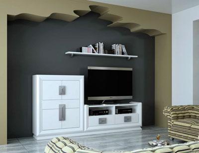 Touring 6 mueble salon comedor neoclasico color 504